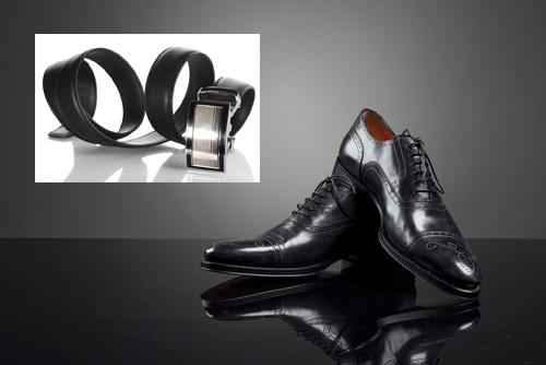 เข็มขัดที่เลือกใส่ควรเป็นเส้นเล็กและสีเดียวกับรองเท้าที่สวมใส่ |ร้านสูท พพร บริการตัดสูท ชุดสูท