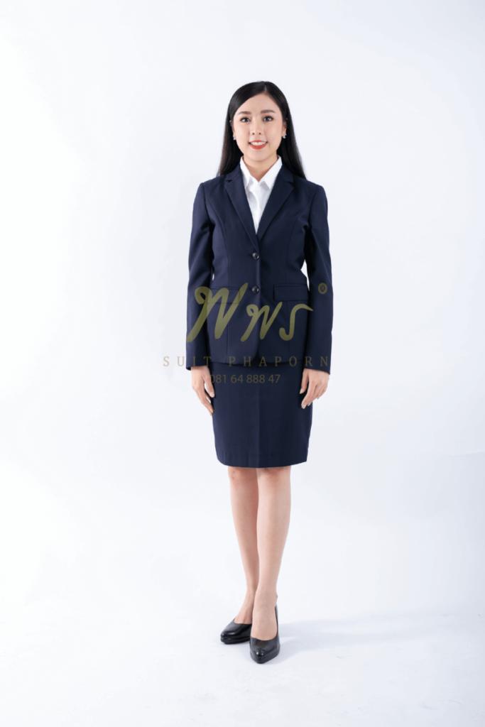 เสื้อสูทองค์กรหญิง   ร้านสูท พพร บริการตัดสูท ชุดสูท เสื้อเชิ้ต ชุดปกติขาว ครบวงจร