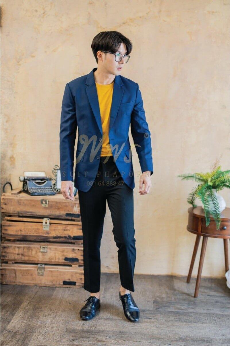 สูทแฟชั่นผู้ชาย | ร้านสูท พพร บริการตัดสูท ชุดสูท เสื้อเชิ้ต ชุดปกติขาว ครบวงจร
